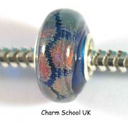 European Style Beads With Sterling Silver Core (8024)